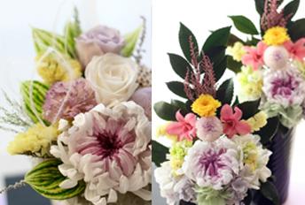 お花のお届けサービス