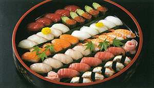 上寿司盛合せ
